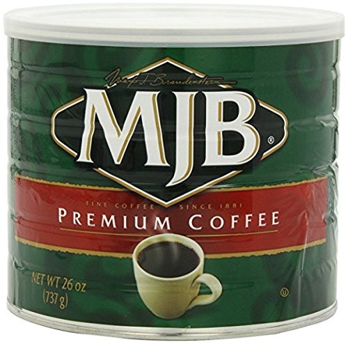 MJB Coffee, Premium Ground, 26 Ounce (Pack of 6) by MJB