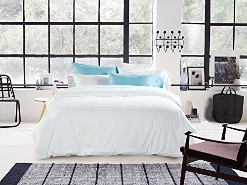 UFO Home 3pc Duvet Cover Set, 600 Thread Count Percale, 100%