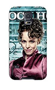 New Snap-on ChristopherBoyer Skin Case Cover Compatible With Galaxy S5- Irene Adler - Sherlock Holmes