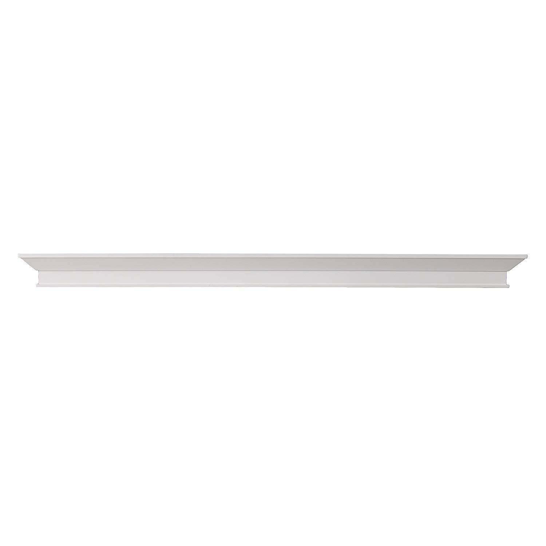 Furniture HotSpot - Fireplace Mantel Shelf -White - 60'' W x 8'' D x 4'' H by Furniture HotSpot
