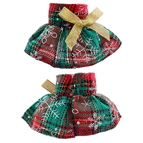 yamaso Santa Couture Clothing for elf Doll (Three Skirts)