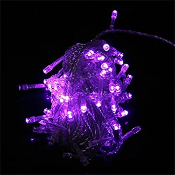 String Decoration Light For Christmas Party Wedding Purple