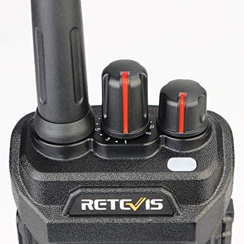 Retevis RT48 Walkie Talkie for Adults Long Range IP67 VOX Monitor Scrambler Security Walkie Talkies Waterproof (2 Pack) by Retevis (Image #8)