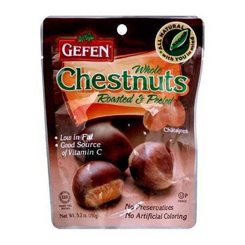 Gefen Chestnuts, Roasted Whole, Shelled, 5.2 oz by Gefen