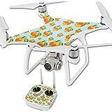 MightySkins Protective Vinyl Skin Decal for DJI Phantom 4 Quadcopter Drone wrap cover sticker skins Orange You Glad