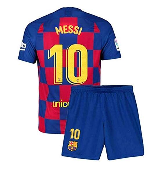 Amazon.com: Sulnasport Barcelona 2019-2020 Home #10 Messi ...