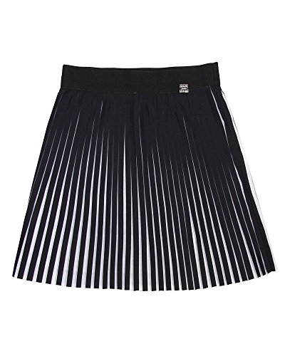 Deux Par Deux Girls Skirt - Deux par Deux Girls' Plisse Skirt So Safari, Sizes 7-12 - 10