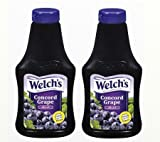 Welch's, Concord Grape Jelly, 22oz Squeeze Bottle (Pack of 2)