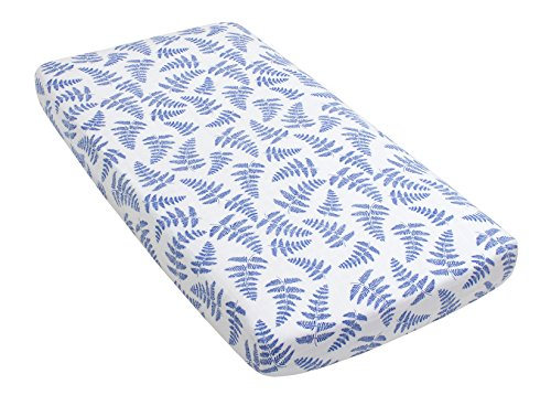 Fitted Organic Cotton Crib Sheet By Margaux Amp May Blue