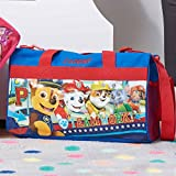 Personalized Licensed Kids Travel Duffel Bag – 18″ (Boys – Paw Patrol) For Sale
