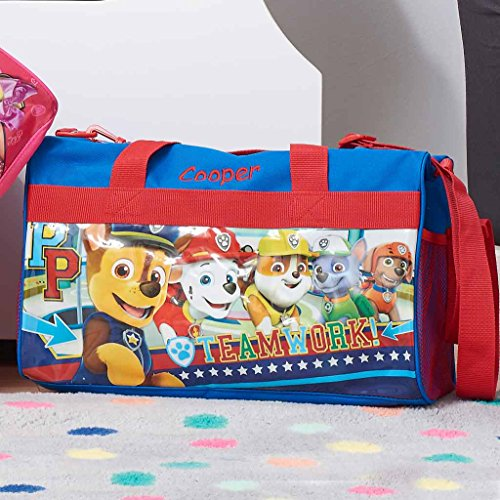 Personalized Licensed Kids Travel Duffel Bag - 18