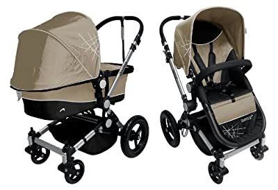 Dream On Me Acrobat Multi Terrain Stroller and Bassinet, Makado Atmo by Dream On Me