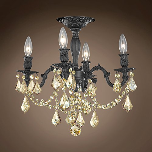 (Joshua Marshal 701585-055 - Traditional Versailles 4 Light 17