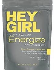 Metabolism Booster Tea For Women - Energize Tea will Increase Energy, Focus and Support Natural Weight Loss | Replace Your Coffee with Energize to Get Through your Day with Ease