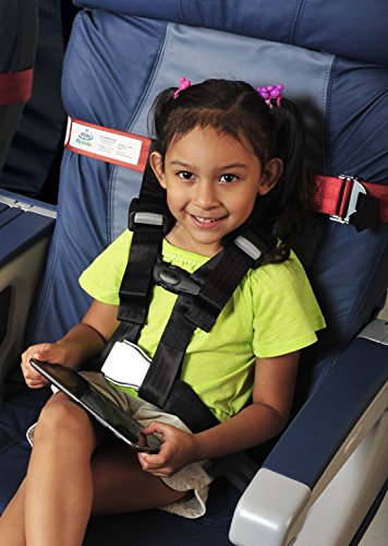 Amsafe Cares Kids Fly Safe Airplane Seat Harness For