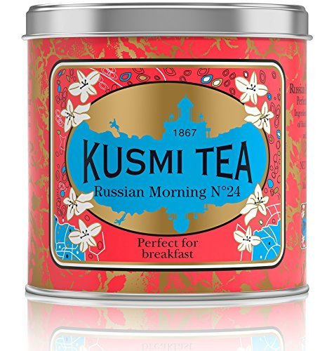 Russian Black Metal (Kusmi Tea Russian Morning No. 24, Loose Tea, 8.8-Ounce Tins)