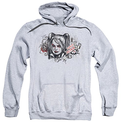 UPC 887806828607, Hoodie: Batman: Arkham Knight - HQ Sketch Pullover Hoodie Size M