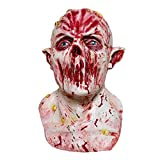 LCMJ WS Halloween Dress Up Horror Latex Mask, Prom Carnival Party Costume, Scene Decoration