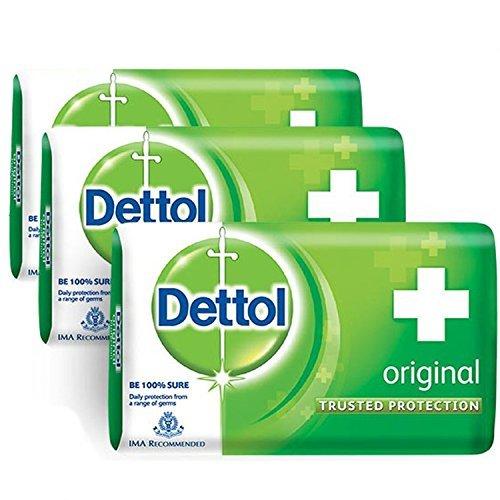 (Dettol Soap, 2.5oz (Pack of 3))
