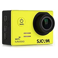 SJCAM SJ5000 WIFI Novatek 96655 14MP 170° Wide Angle 2.0 LCD 1080P Sport Action Camera Waterproof Cam HD Camcorder Outdoor for Vehicle Diving Swimming (Yellow)