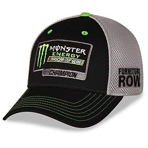 Martin Truex Jr Furniture Row 2017 Monster Energy NASCAR Cup Series Champion Mesh Hat / Cap