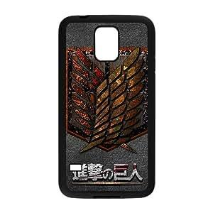 DAZHAHUI Attack On Titan Fashion Comstom Plastic case cover For Samsung Galaxy S5