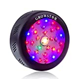 UFO Led Grow Light, Growstar 150W Full Spectrum Plant Light with Cree COB and Switch for Indoor Plants Seeding, Growing and Flowering. (150w)