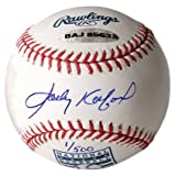 Los Angeles Dodgers Sandy Koufax Autographed Hall of Fame Model Baseball (UDA)