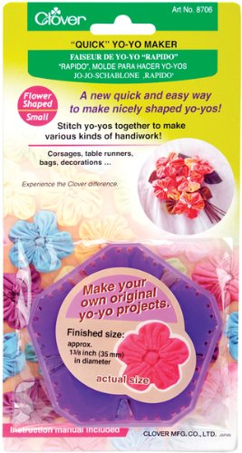 Quick Yo Yo Maker-Flower 1-3/8