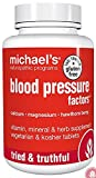 Michael's Naturopathic Programs Blood Pressure Factors Nutritional Supplements, 180 Count