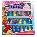 TownleyGirl Disney Princess Non-Toxic Peel-Off Nail Polish Set for Kids (15)
