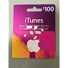 Apple iTunes card 100$