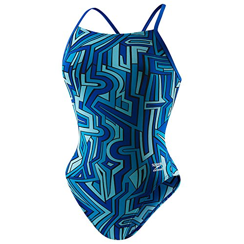 스피도 Speedo Womens Conquers All Touch Back Swimsuit