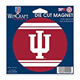 Indiana Hoosiers Official NCAA 4.5 inch x 6 inch Car Magnet by Wincraft