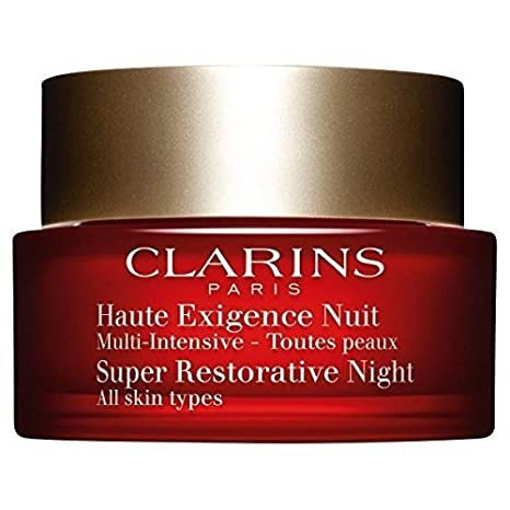 Amazon.com : Clarins Super Restorative Night Cream All Skin Types 50ml : Beauty