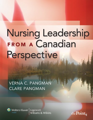 Nursing Leadership from a Canadian Perspective Pdf