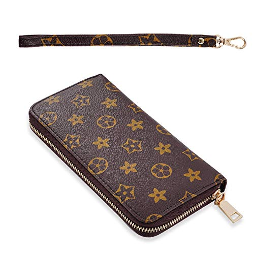 - Dewest Women's Fashion Classic Design Purse Fashion PU(Polyurethane) Leather Purse Phone Clutch Handbag Wristlet with Zipper