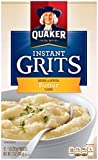 Quaker Instant Grits Real Butter, 12-Count Boxes (Pack of 12) For Sale