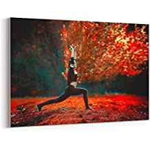 Westlake Art - Canvas Print Wall Art - Red Nature on Canvas Stretched Gallery Wrap - Modern Picture Photography Artwork - Ready to Hang - 18x12in (*7x-f24-44e)