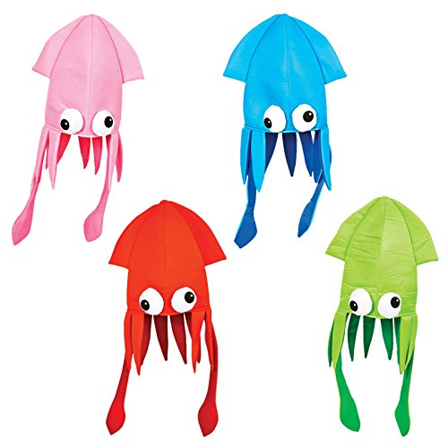 Squid Party Accessory Colors vary