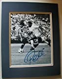"PELE Signed 8""x10"" DOUBLE MATTED Photo Reprint. With FACSIMILE Autograph. Ready for Framing!"