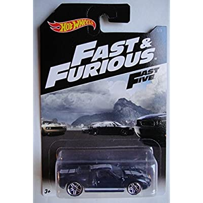 HOT WHEELS 2016 FAST & FURIOUS FAST FIVE BLUE FORD GT-40 5/8: Toys & Games