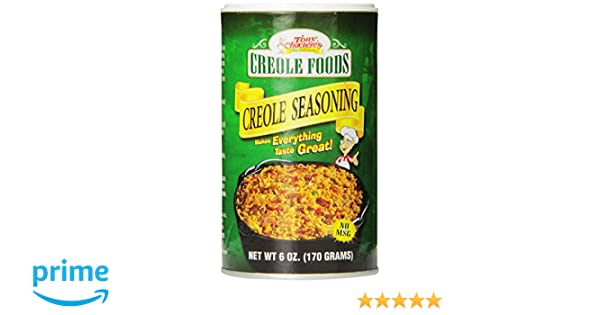 Amazon.com : Tony Chachere Original Creole Seasoning, 6-Ounce Containers (Pack of 2) : Cajun Seasoning : Grocery & Gourmet Food
