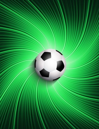 Kids Soccer Sport Primary Journal Composition Notebook for Elementary School: School Notepad: Soccer Ball with Green Background Draw & Write Journal ... Page (66 Sheets) Note Book Pad, Sketchbook