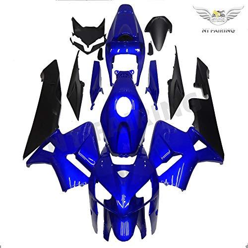 - Injection Fairing For Honda 2005 2006 CBR 600RR Blue Black New Plastic Set