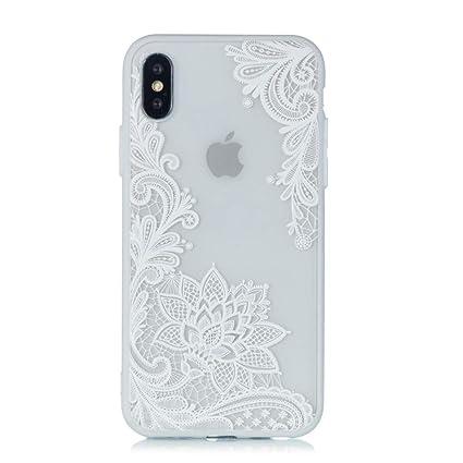 Custodia per Apple iPhone 6 4.7 Bumper BLU BORDO TRASPARENTE Cover