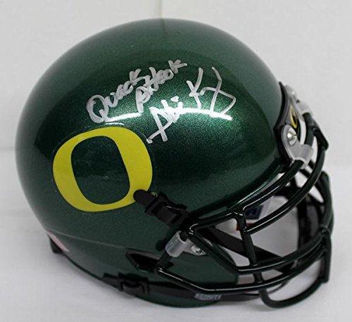 Phil Knight Nike Signed Autographed Oregon Ducks Mini Helmet