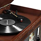 Victrola Aviator 8-in-1 Bluetooth Record Player