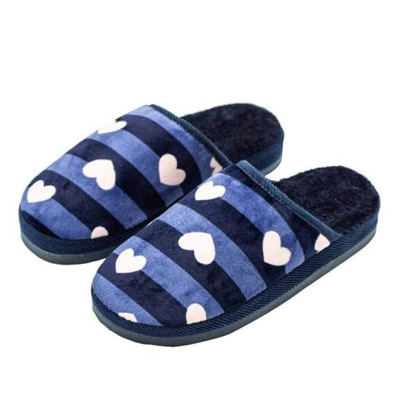 c08cec94c2c6 Pantoufles En Coton Pour Hommes Et Pour Femmes Automne Et Hiver Chaussures  Chaudes Pour La Maison
