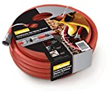 Parker Hannifin HWR5850 Rubber Cover HWR Premium Hot Water Hose Assembly, Red, 50' Length, 0.625'' ID